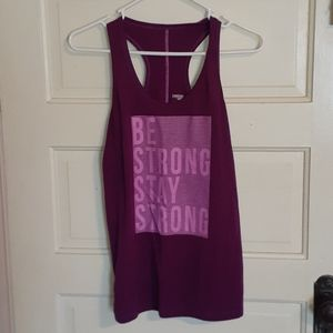 Exercise tank top!